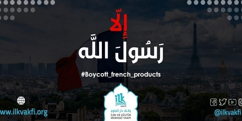 Boycott french products